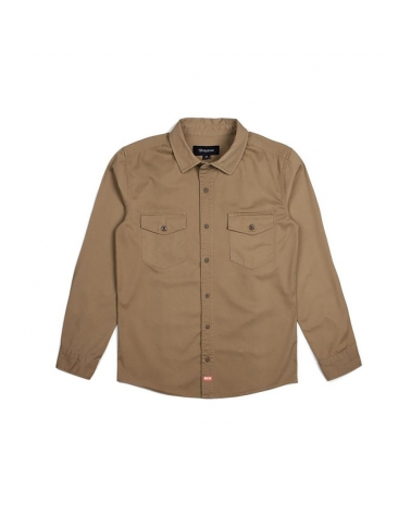 Camisa Brixton Olson L/S Hombre