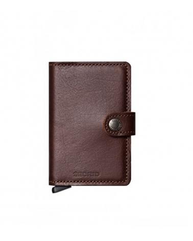 Secrid Mini Wallet Original Dark Brown