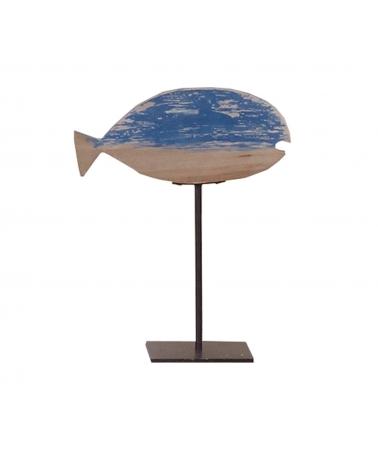 Deco Peana de Pez 26x12xH32cm