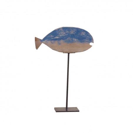 Deco Peana de Pez 31x12xH44cm