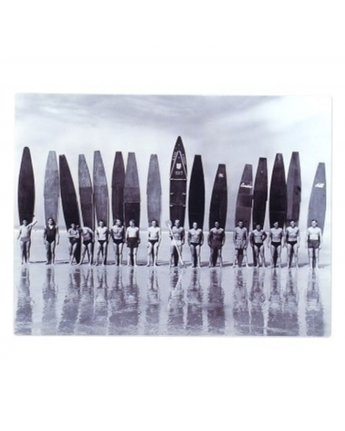 Signes Placa Pared Retro Surf