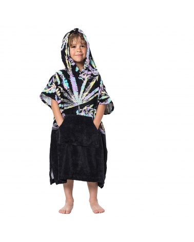 Rip Curl Poncho Groms Black