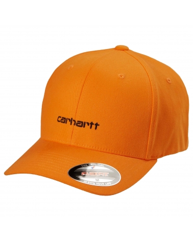 Carhartt Script Cap Pop Orange