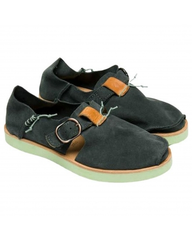 Shoes Satorisan Benirras Suede Black Sand
