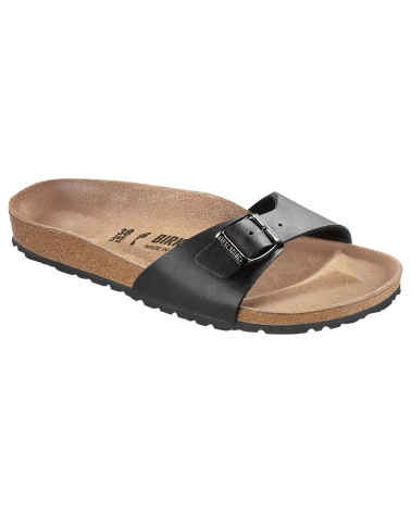 Birkenstock Madrid Bf Black Narrow Fit