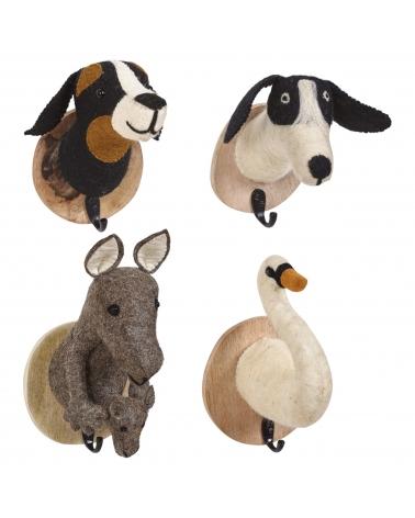 Foimpex Colgador Animal. Perro/Canguro/Cisne