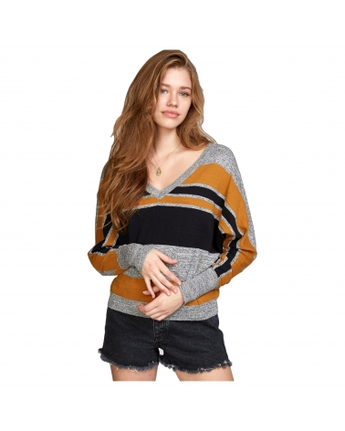 Rvca Alex Stripe Crew