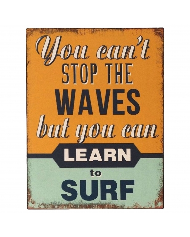 Signes Grimalt Placa Pared You Can'T Stop The Waves