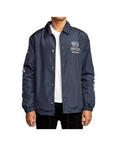 Rvca Berni Coaches Jacket