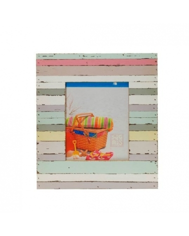 Photo frame colour stripes