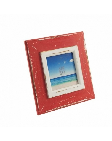 Photo frame red