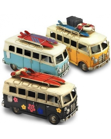 Hippie Surfing Bus 15 cm.