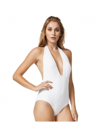 Piha Swimsuit Gelato Deep V Halter Suit