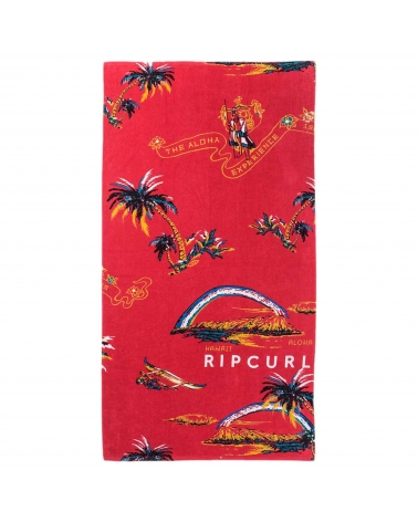 Rip Curl Corpo Towel Red